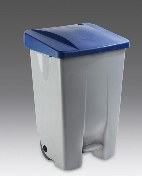 contenedor reciclaje a pedal litros