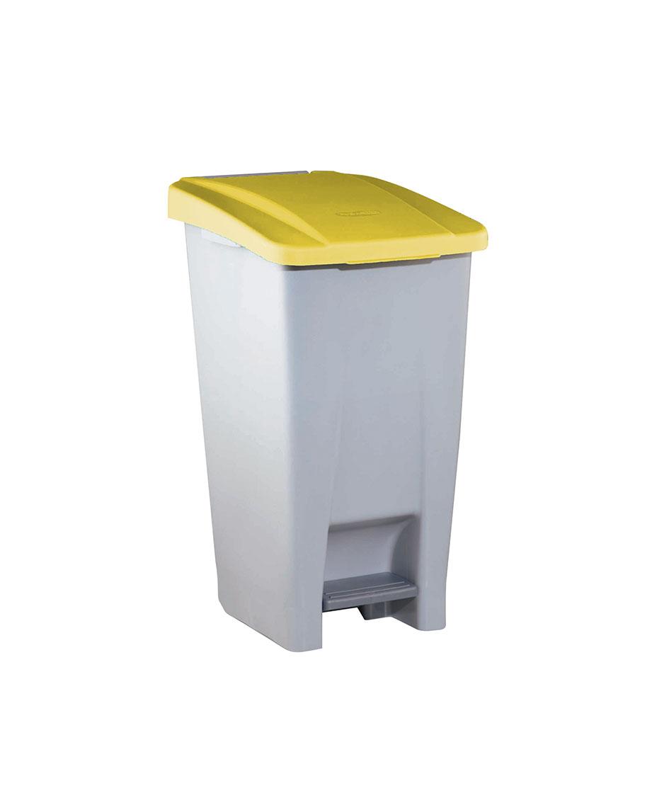 contenedor  litros tapa amarilla ver es