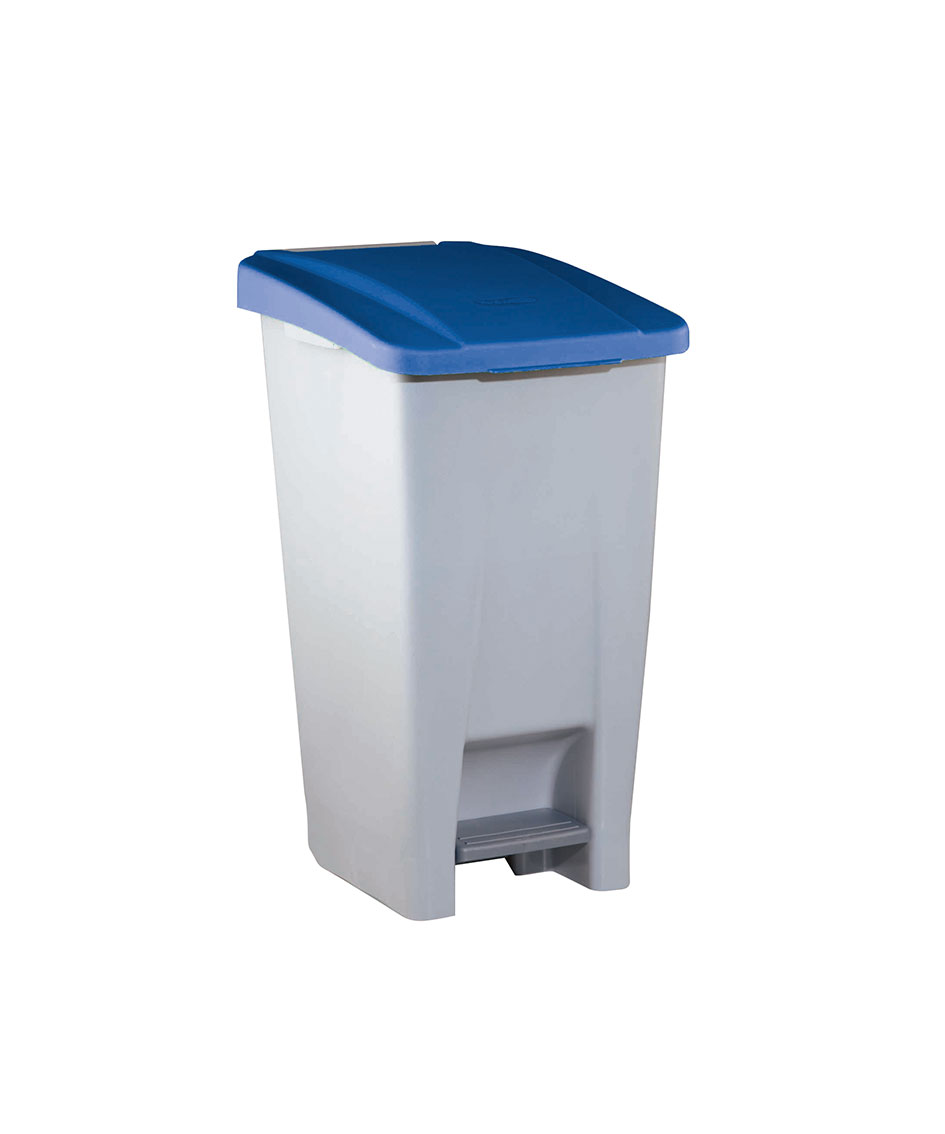 contenedor  litros tapa azul ver es