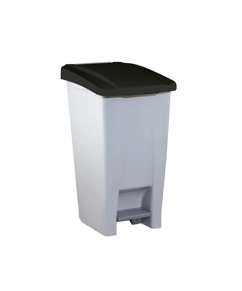 contenedor  litros tapa negro ver es