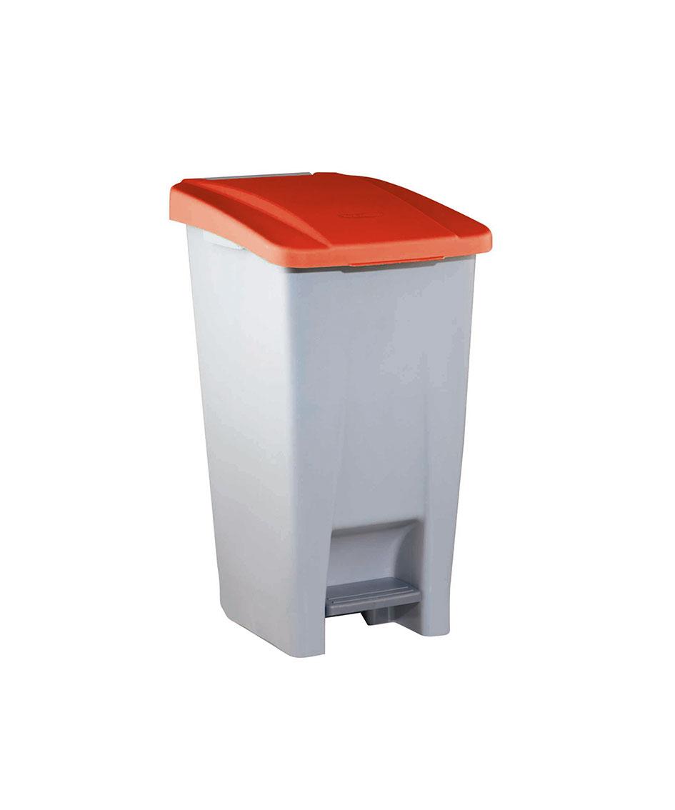 contenedor  litros tapa roja ver es