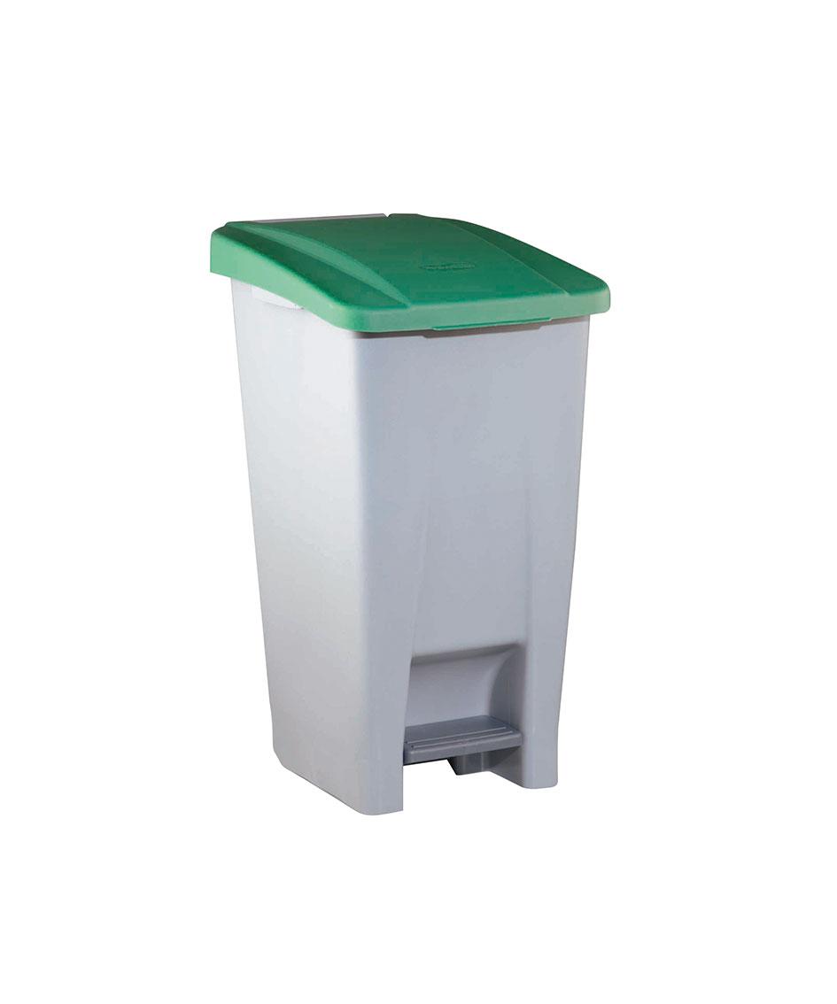 contenedor  litros tapa verde ver es