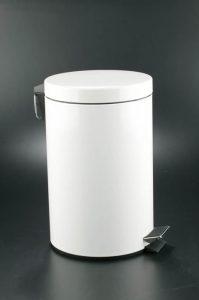 papelera-a-pedal-blanca-12-litros