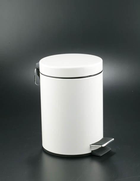 papelera a pedla blanca  litros