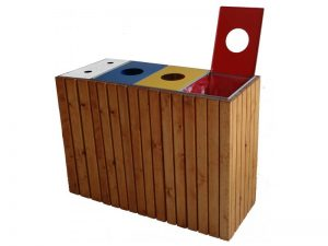 papelera_reciclaje_madera_triple_con_cenicero_6814853