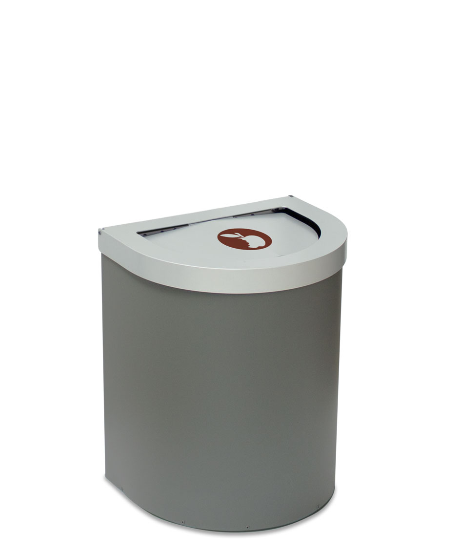 papelera reciclaje litros tapa basculante