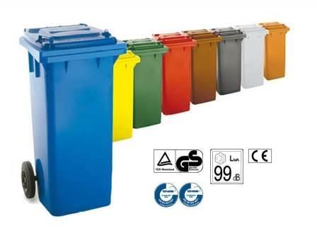 Contenedor 120l - Contenedores de basura para reciclaje ...