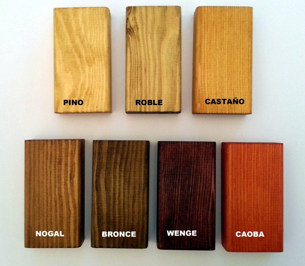 acabados madera papeleras