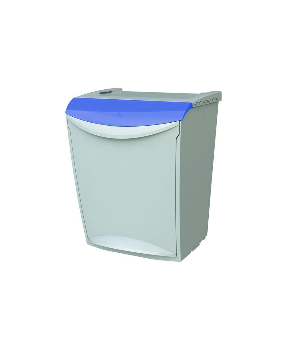 contenedor apilable azul
