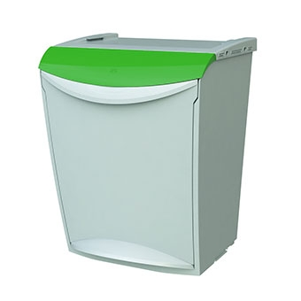 contenedor verde