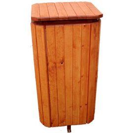papelera jardines madera