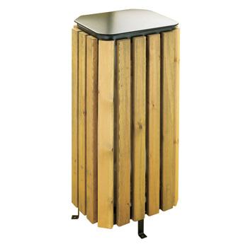 papelera madera