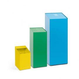 papelera reciclaje diseño tamaños