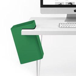 ambiente papelera para mesa verde