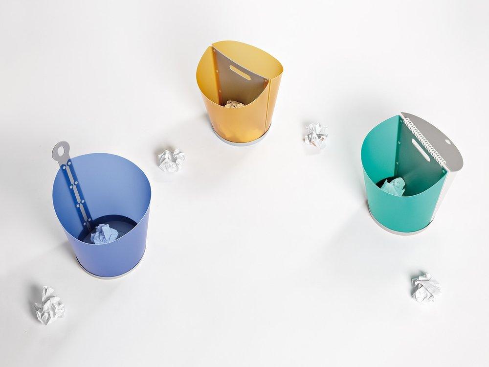 modelos papelera oficina dobles