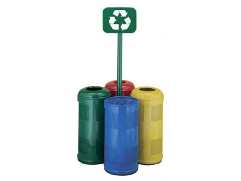 isla punto de reciclaje