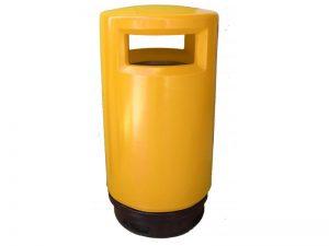 papelera_reciclaje_exterior_polietileno_amarilla