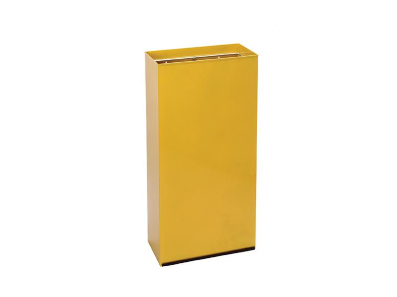 papelera reciclaje rectangular