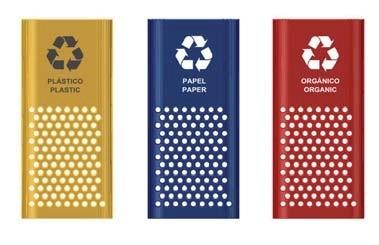 vinilos reciclaje puerta frontal ejemplo