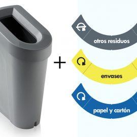 adhesivos reciclaje ubin