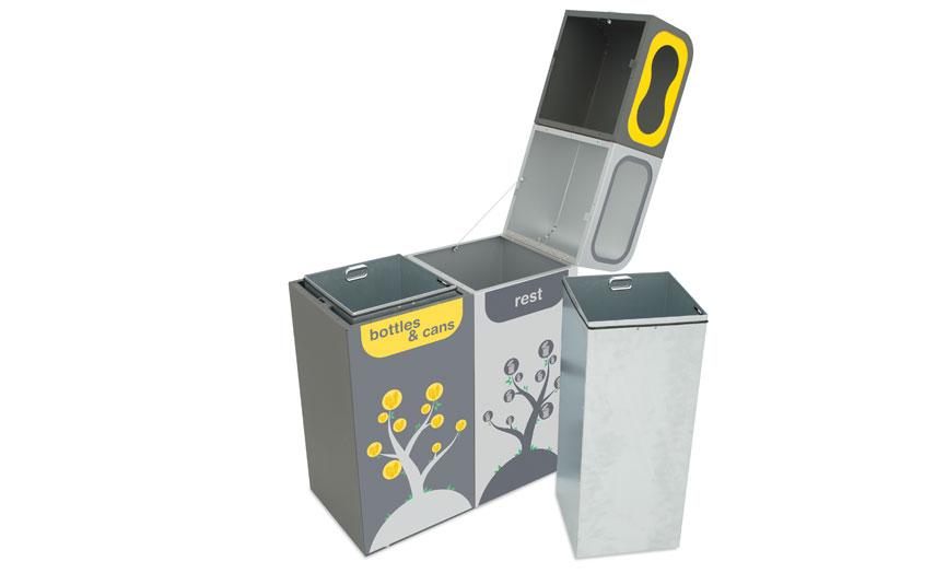 apertura papelera reciclaje