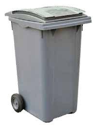 contenedor litros color gris