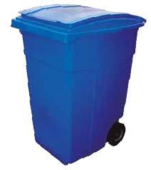 contenedor litros azul