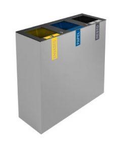 papelera de reciclaje triple 627423310
