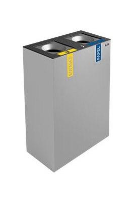 papelera reciclaje autoextinguible