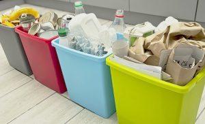 Papeleras reciclaje plástico